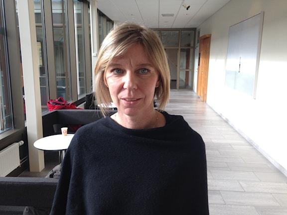 Åklagaren Cecilia Aronsson. Foto: Robert Ojala/Sveriges Radio