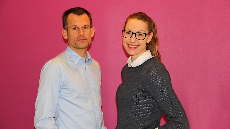 Stefan Holm och Sofie Skoog
