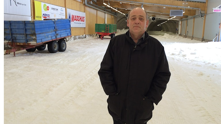 Thomas Stjerndorf. Foto: Lennart Nordenstein/Sveriges Radio.