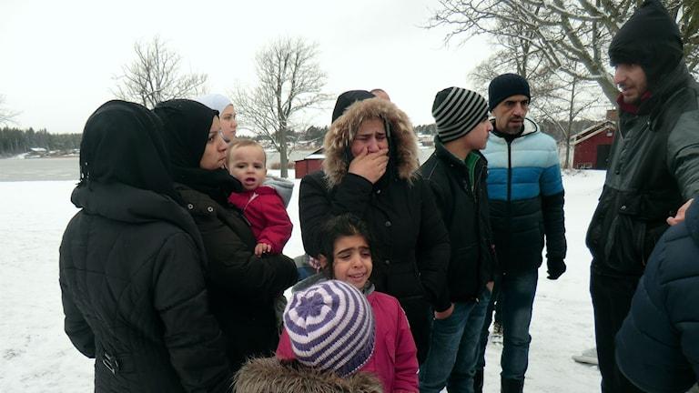 Asylboendet på Herrgårdscampingen i Kristinehamn töms- men de asylsökande vet inte vart de ska.
