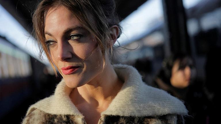 Sara Broos. Foto: Joakim Roos.