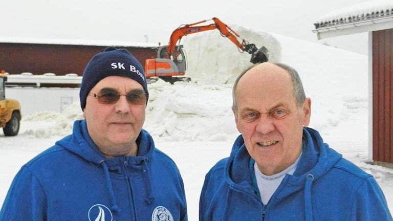 Jan Björn och Per-Åke Yttergård. Foto: Sven Westerdahl/Sveriges Radio.