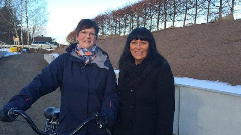 Eva-Lena Larsson och Birgitta Svensson.