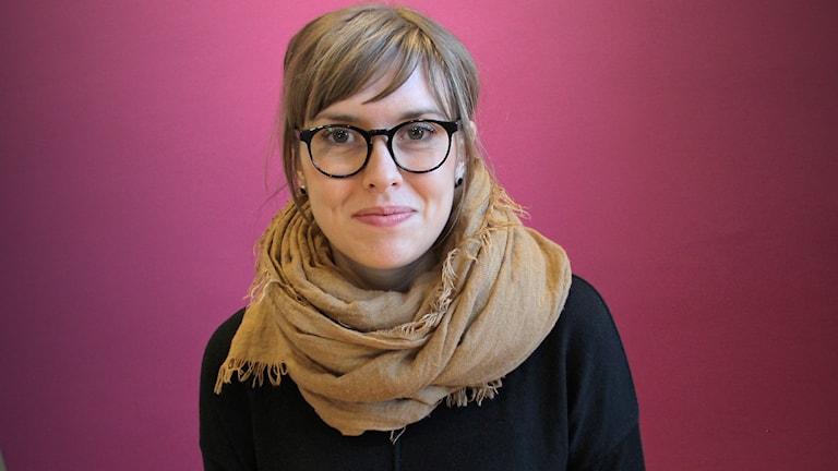 Anna Sundqvist. Foto: Lars-Gunnar Olsson/Sveriges Radio.