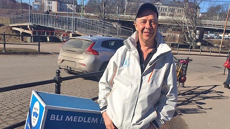 Håkan Florin. Foto: Kajsa Carlsson/Sveriges Radio.