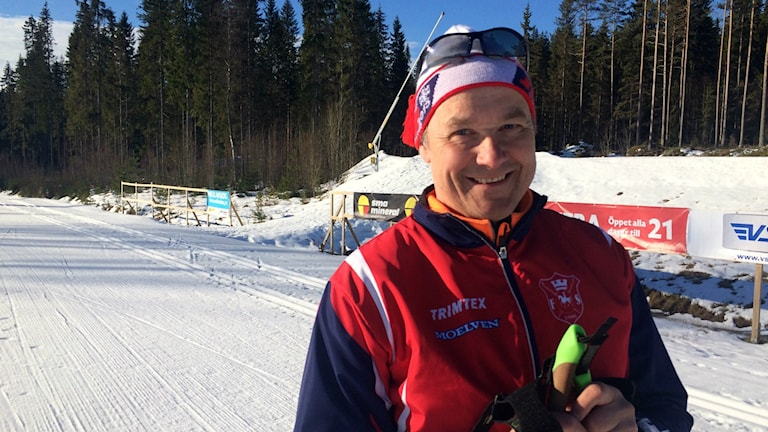 Benny Vestlund i skidspåret