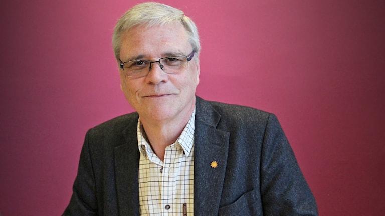 Henrik Lindblom, Liberalerna Karlstad. Foto: Lars-Gunnar Olsson/Sveriges Radio.