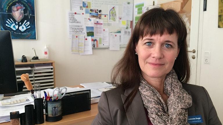 Maria Lindström Bagge, verksamhetschef för barnmedicinska sjukvården i Värmland.