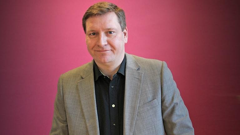 Magnus Hildebrandt, Unionen. Foto: Lars-Gunnar Olsson/Sveriges Radio.