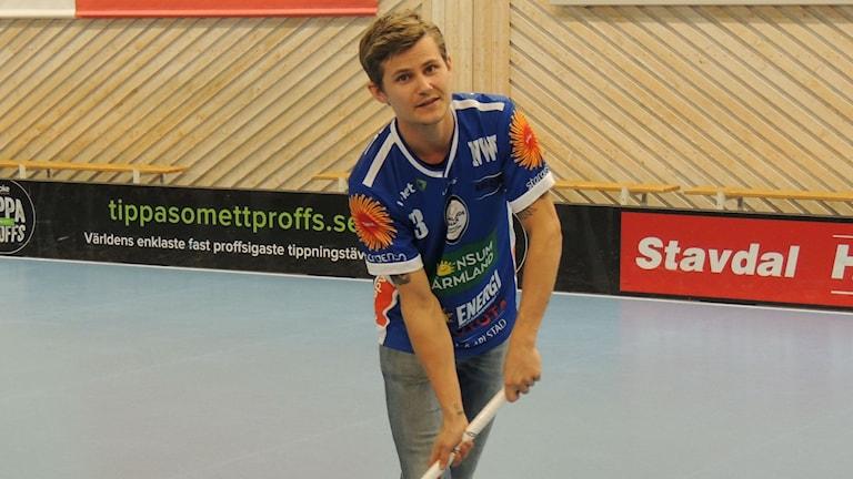 Karlstad IBF:s nyförvärv Kevin Björkström