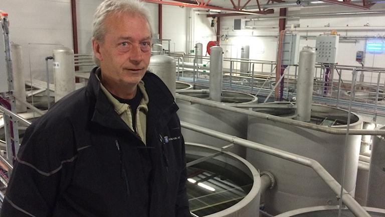 Nisse Olsson, projektledare Arvika Teknik AB. Foto: Per Larsson/Sveriges Radio.