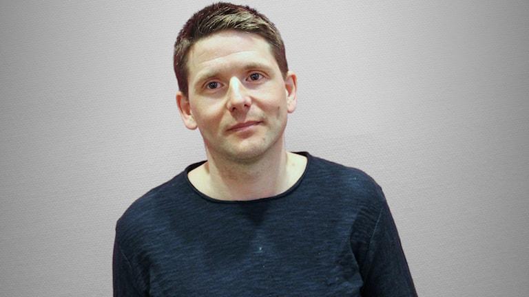 Peter Carlman, lärare i idrottsvetenskap på Karlstads universitet. Foto: Jonas Hansson/Sveriges Radio.