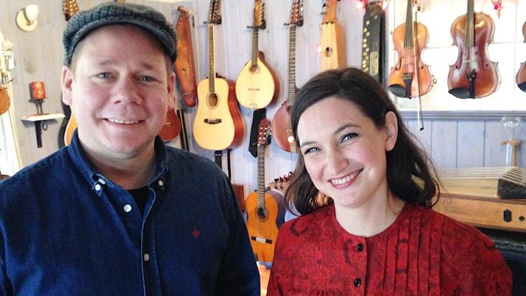Magnus och Sophia Stinnerbom. Foto: Robert Ojala/Sveriges Radio