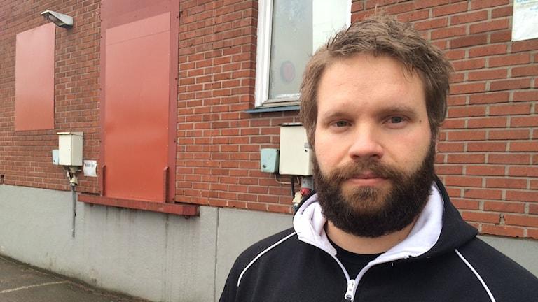 Henrik Jonsson, klubbordförande för Handels på Orrholmen.