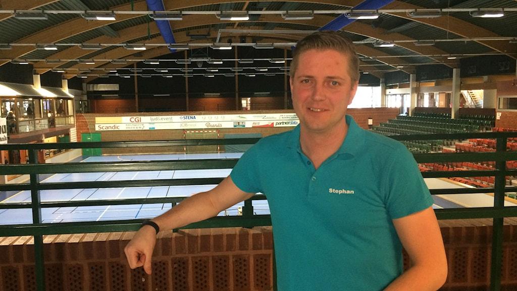 Stefan Hammar som är verksamhetschef på kultur- och fridsförvaltningen, bad och sport i Karlstad.