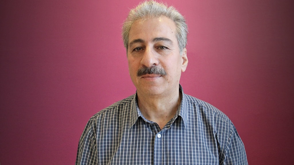 Mansour Al Mansour från Syrien. Foto: Lars-Gunnar Olsson/Sveriges Radio