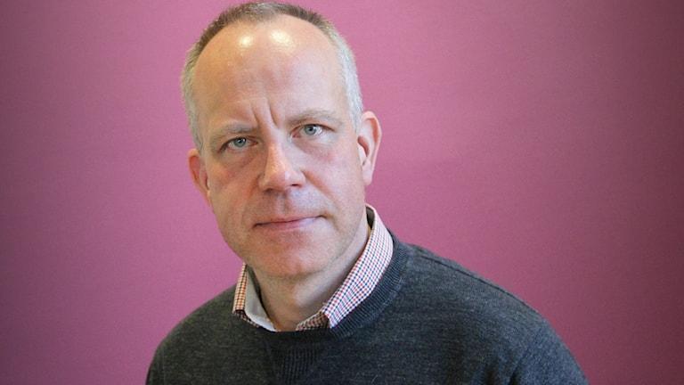 Urban Karlstam, varumärkesexpert. Foto: Lars-Gunnar Olsson/Sveriges Radio.