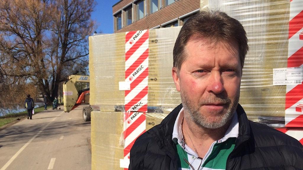 Ulf Zakrisson. Foto: Jenny Tibblin/Sveriges Radio.