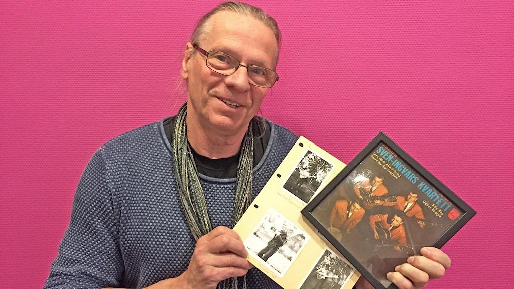 Lasse Högberg, Folk&Rock i Segmon. Foto: Tomas Hedman/Sveriges Radio.