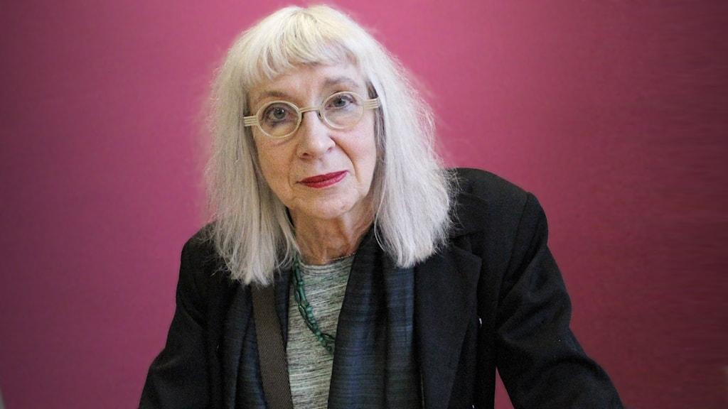 Suzanne Osten, regissör. Foto: Lars-Gunnar Olsson/Sveriges Radio.
