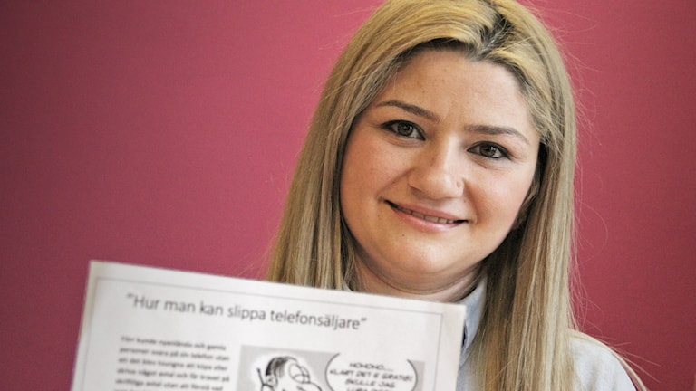 Roudi Shahine från Syrien. Foto: Lars-Gunnar Olsson/Sveriges Radio