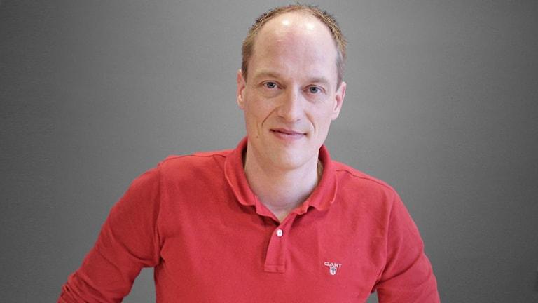 Glenn Olsson, vd för Svenska Rallyt AB. Foto: Lars-Gunnar Olsson/Sveriges Radio.