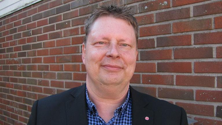 Per Lawén, socialdemokratisk kommunpolitiker i Forshaga. Magnus Hermansson/Sveriges Radio.
