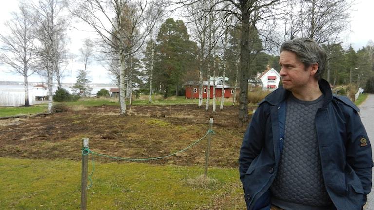 Johan Rosqvist, chef för serviceförvaltningen Hammarö kommun.