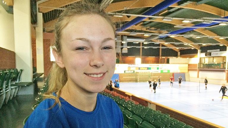 Carolina Björklund. Foto: Jenny Tibblin/Sveriges Radio.