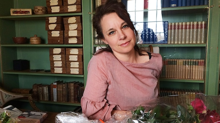 Sara Stridsberg. Foto: Per Larsson/Sveriges Radio.