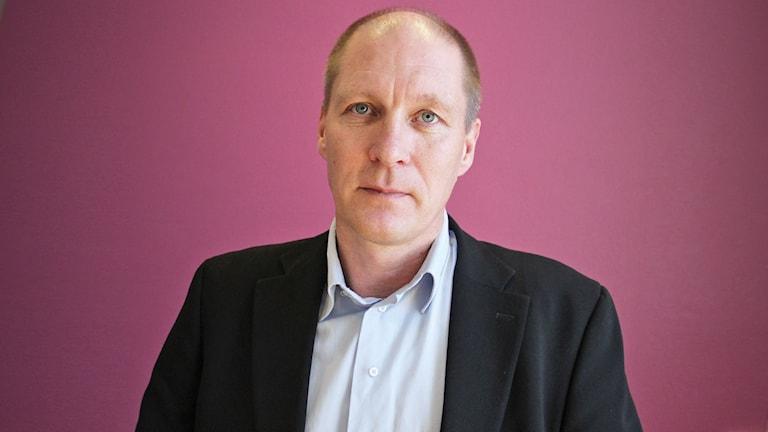 Göran Lidström, vd Vänerhamn. Foto: Lars-Gunnar Olsson/Sveriges Radio.