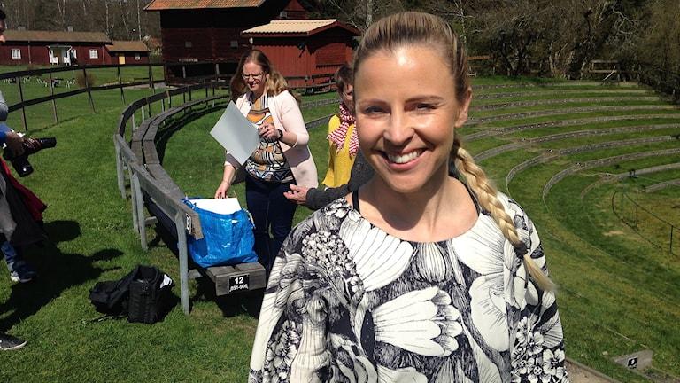 Lisa Miskovsky. Foto: Robert Ojala/Sveriges Radio.