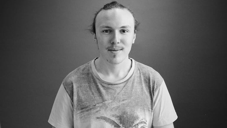 Sebastian Arnesson. Foto: Lars-Gunnar Olsson/Sveriges Radio