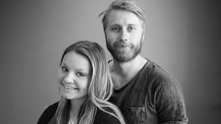 Matilda och Stefan. Foto: Lars-Gunnar Olsson/Sveriges Radio.