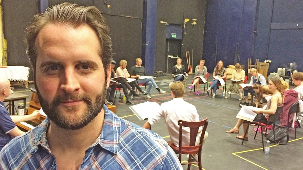 Philip Jalmelid repeterar Les Misérables