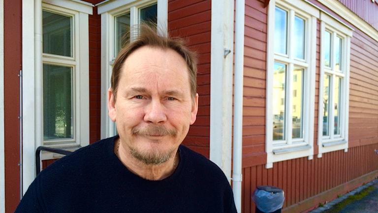 Jörgen Widing, samordnare på Bostad först.