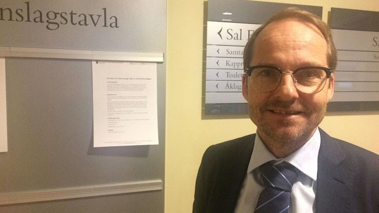 Karlstads kommuns advokat Jonas Nilsson