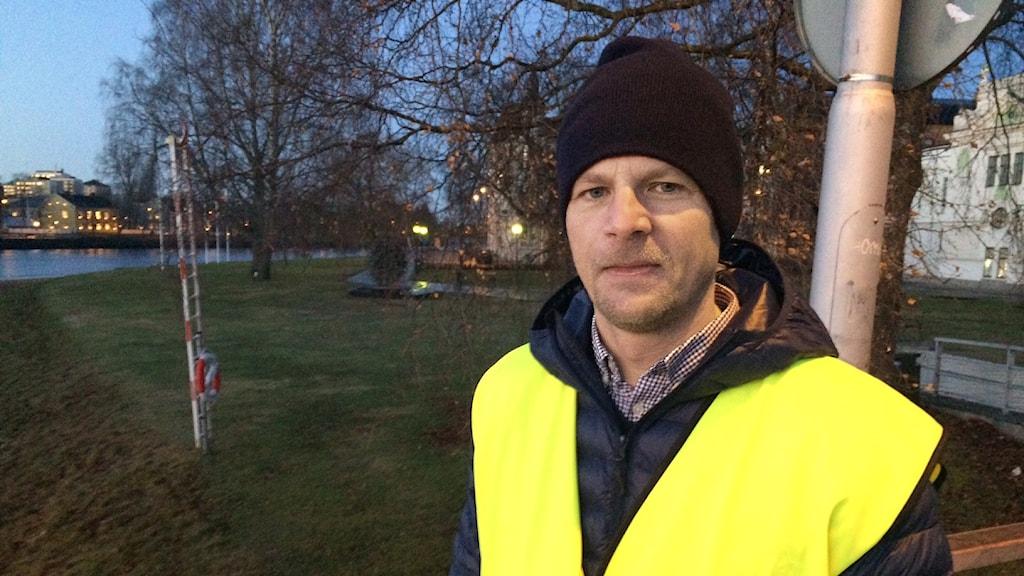 Anders Karlborg, verksamhetschef på NTF Värmland. Foto: Jenny Tibblin/Sveriges Radio.