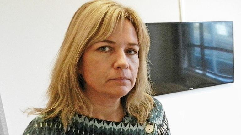 Ina Johansson. Roy Malmborg/Sveriges Radio.