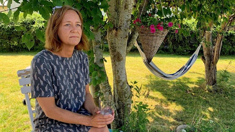 Maria Johansson. Foto: Annika Ström/Sveriges Radio.