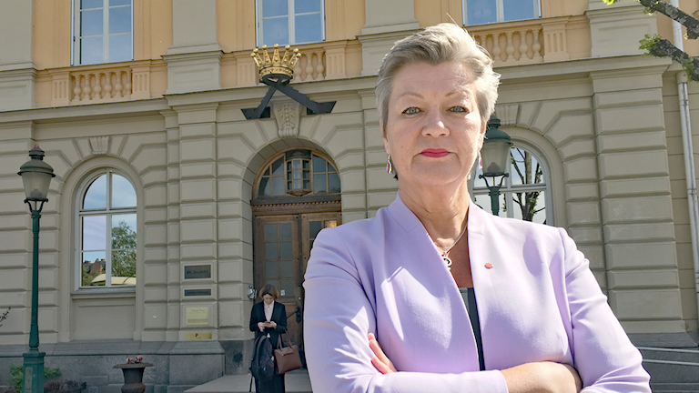 Ylva Johansson (S). Foto: Joakim Nilsson/Sveriges Radio.