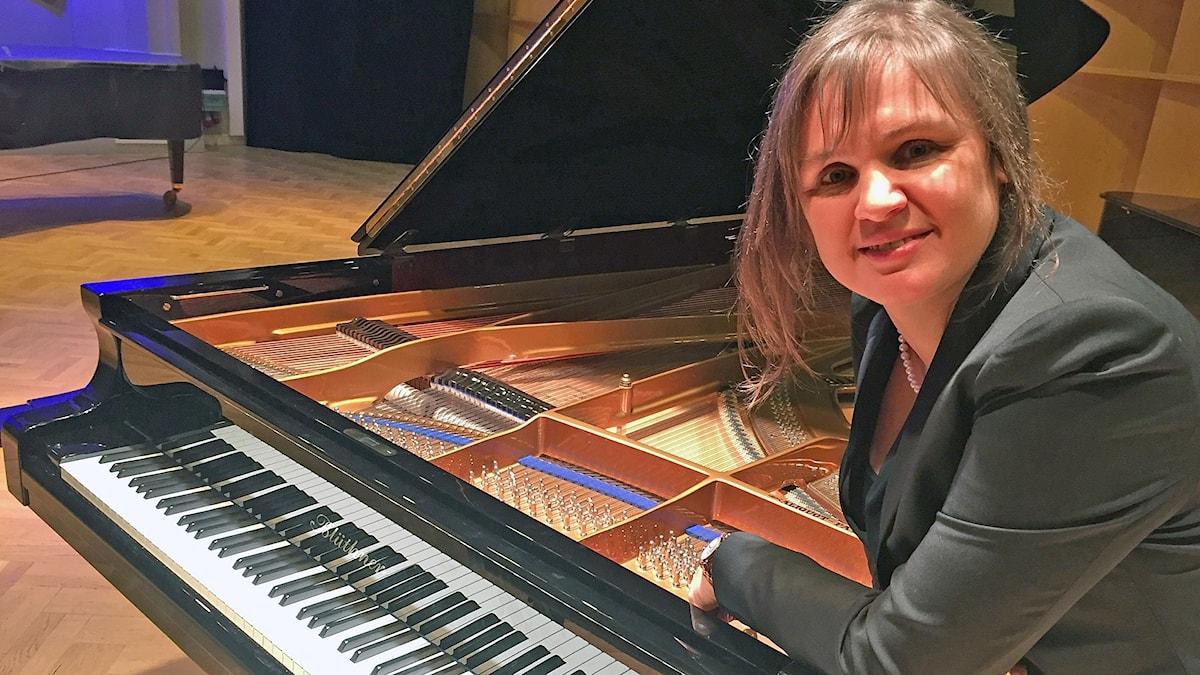 Julia Mustonen-Dahlkvist, konstnärlig ledare för Nordic Piano Competition