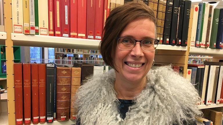 Tina Bergenbrink, kulturchef i Hagfors kommun.
