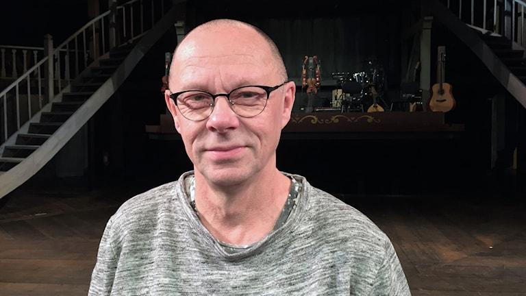 Leif Stinnerbom, regissör. Foto: Robert Ojala/Sveriges Radio.