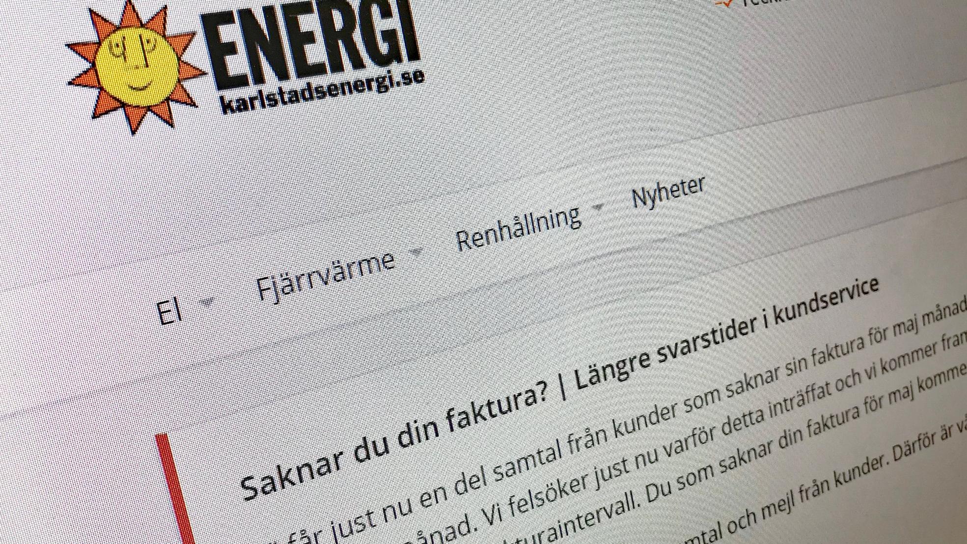 sverige energi kundtjänst