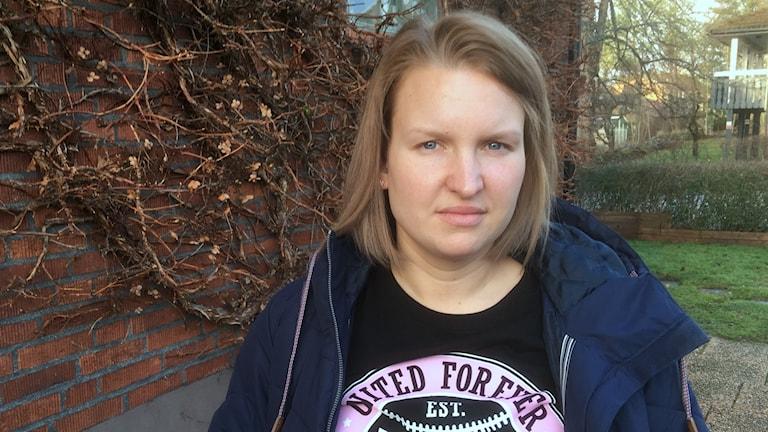 Susanna Winborg från Säffle. Foto: Per Larsson/Sveriges Radio.