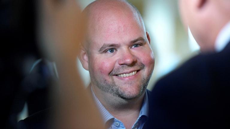 Kristdemokraternas valledare Peter Kullgren