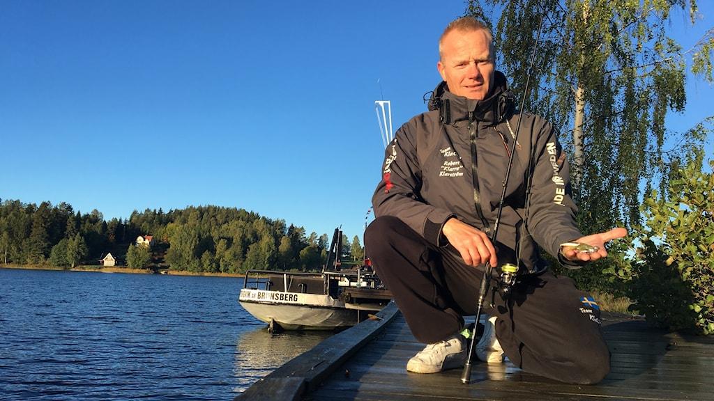 Robert Klarström, sportfiskare