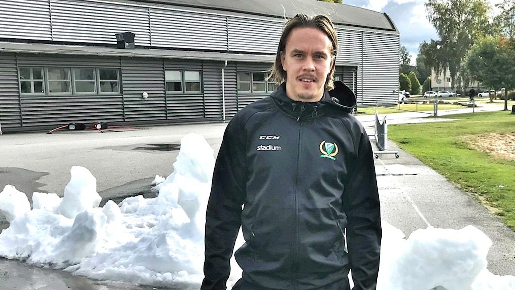 Joakim Nygård. Foto: Mats Fagerström/Sveriges Radio.