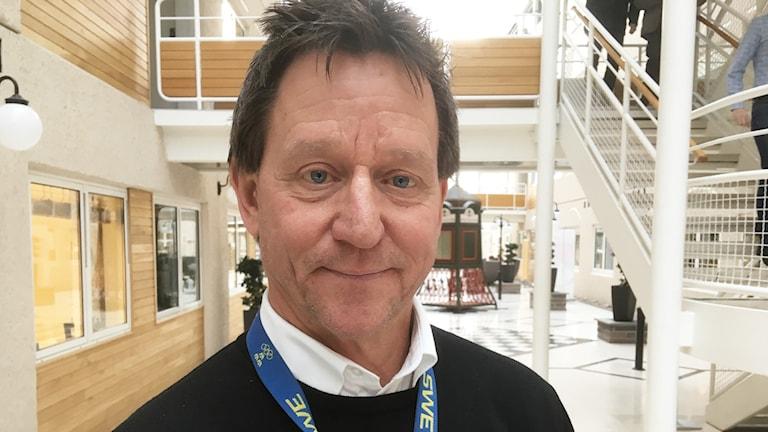 Bosse Henriksson (M). Foto: Per Larsson/Sveriges Radio.